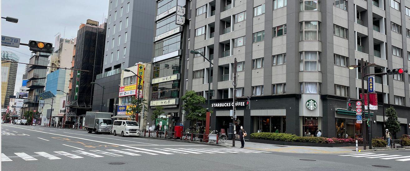 スターバックス浅草雷門通り店