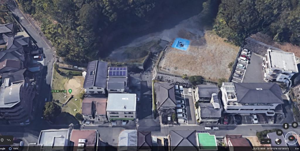 道路付け 出典:GoogleMap