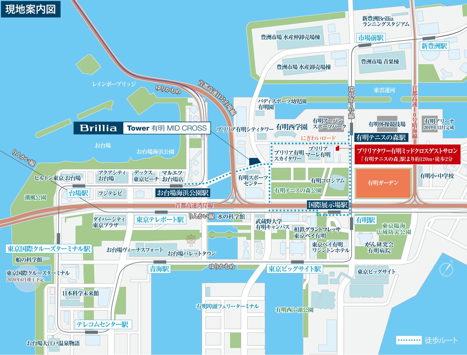 BTA map