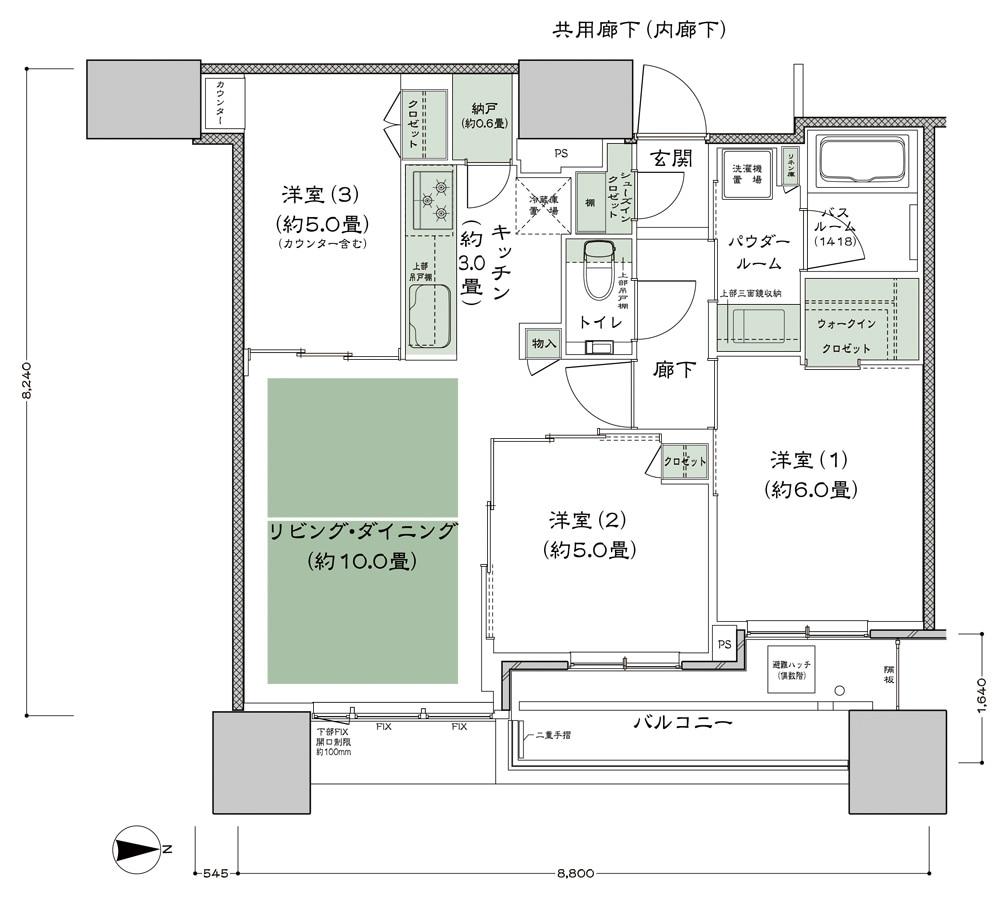 シティタワー大阪本町HP
