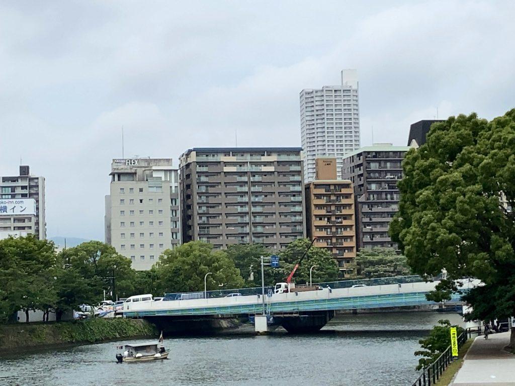 広島駅前大橋から
