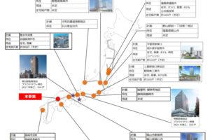 野村不動産の首都圏・名古屋圏以外の再開発事業