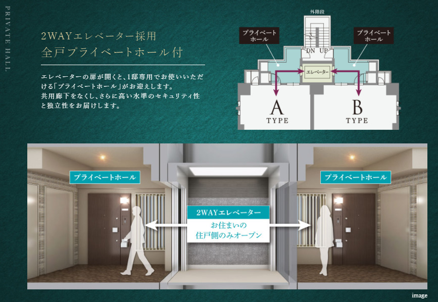 2wayエレベーター 出典:公式サイト