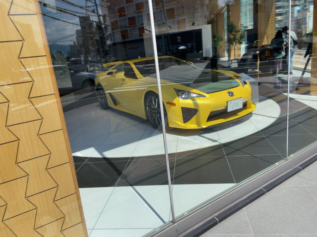 レクサスのお高そうな車